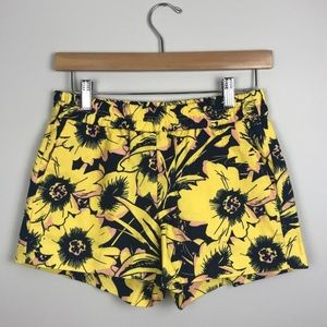 J.Crew Factory Shorts Boardwalk Pull On Yellow NWT